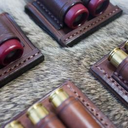 Vertical 3 cartridge sling slip and 12 gauge
